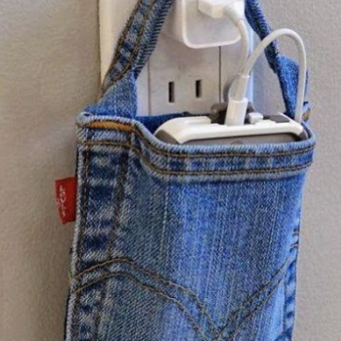 Custom iPhone charger holder