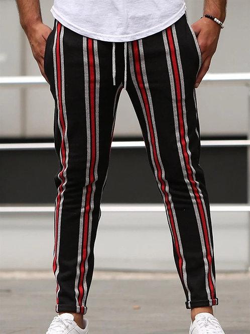 Strip track pants