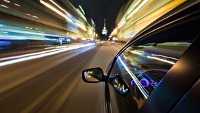Q: Night driving is dangerous because...