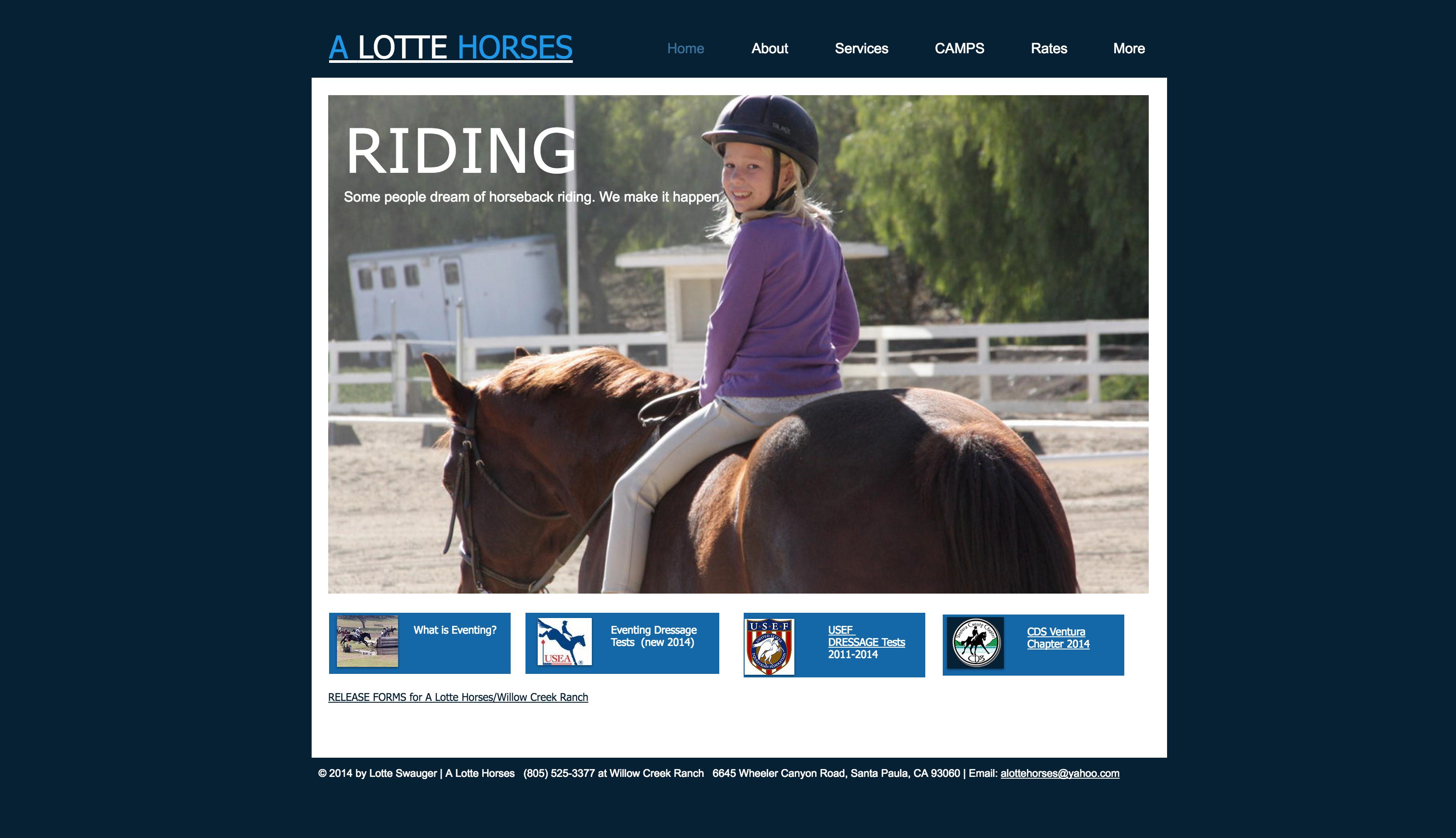 A Lotte Horses