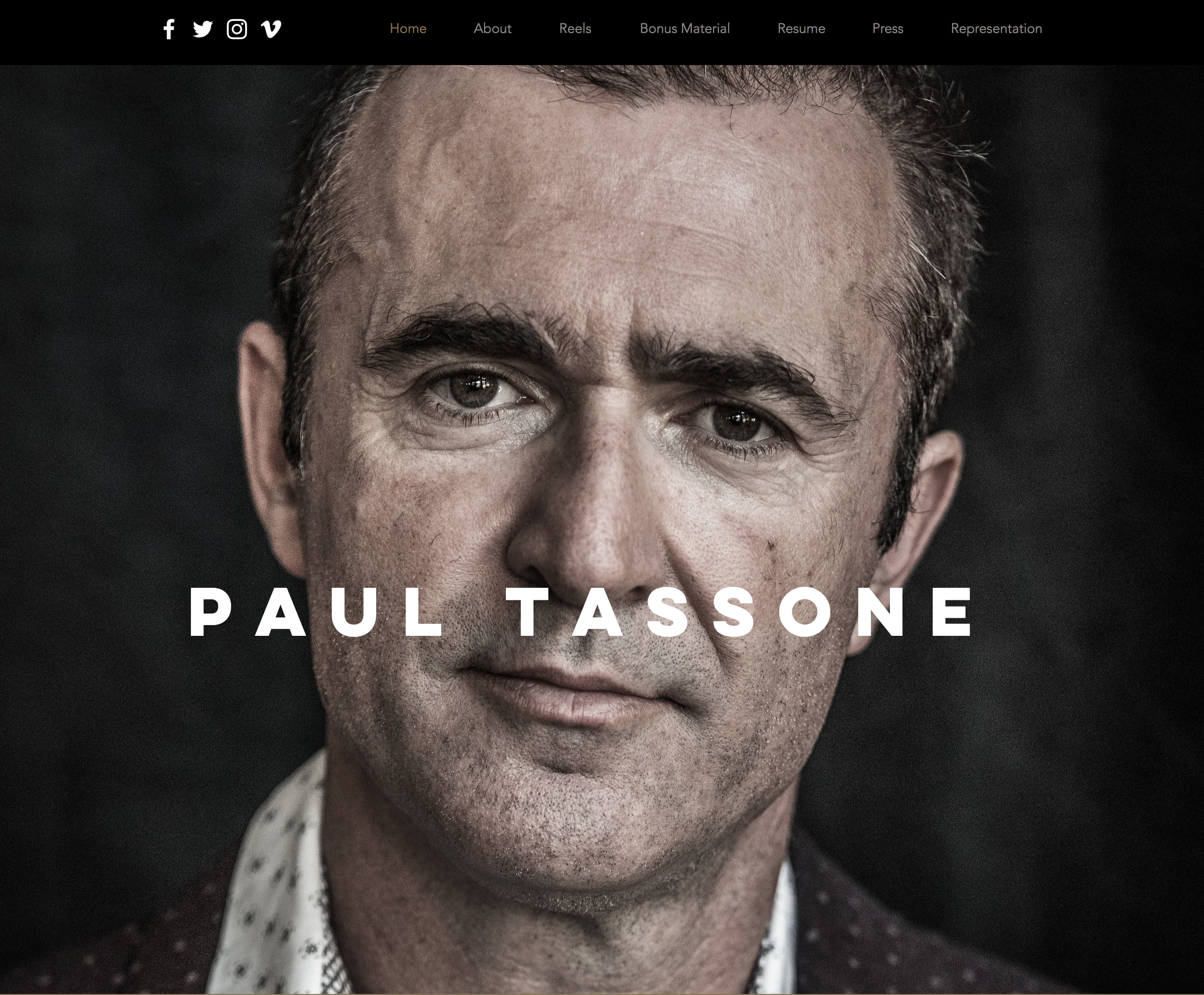 Paul Tassone, Actor