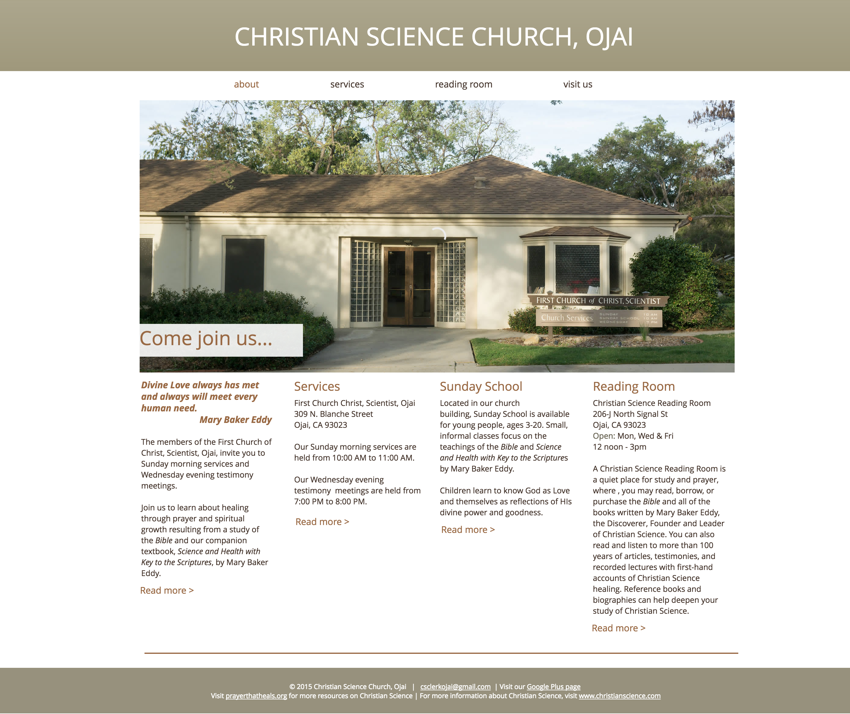 Christian Science Church, Ojai