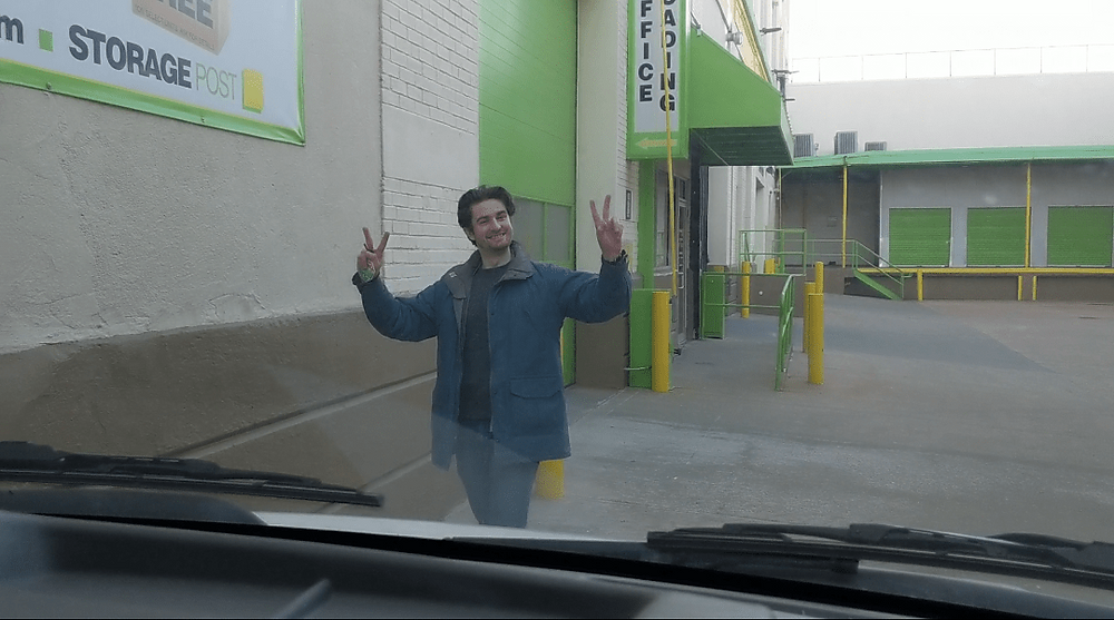 Kevin at Storage
