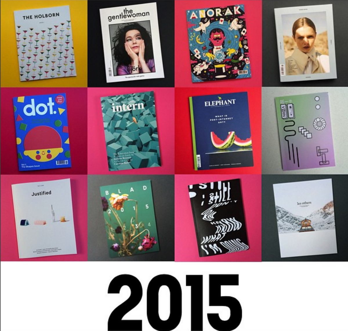 COVER OF THE YEAR COMPETITION