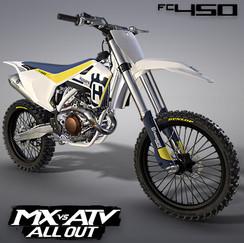 HUSQVARNA FC450 2017 MOTOCROSS BIKE | MX VS ATV ALL OUT