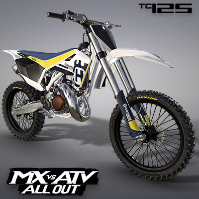 HUSQVARNA TC125 2017 MOTOCROSS BIKE | MX VS ATV ALL OUT