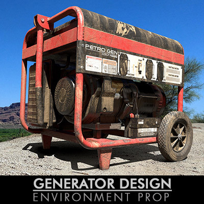 PORTABLE GENERATOR | PERSONAL PROJECT