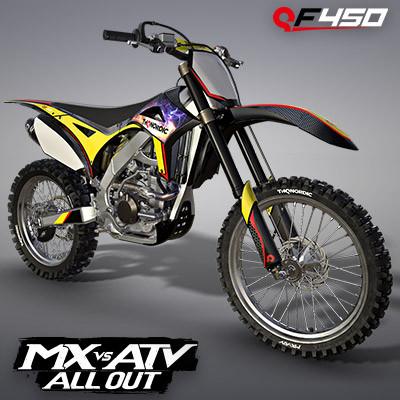 THQ NORDIC QF450 MOTOCROSS BIKE | MX VS ATV ALL OUT