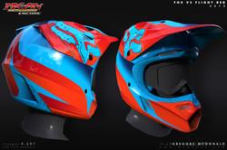 Helmet_FoxV3_Flight_Red