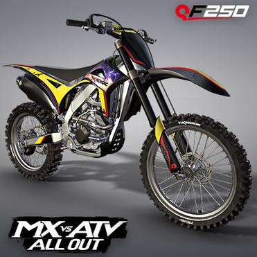 THQ NORDIC QF250 MOTOCROSS BIKE | MX VS ATV ALL OUT