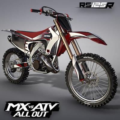 RAINBOW RS125R MOTOCROSS BIKE | MX VS ATV ALL OUT