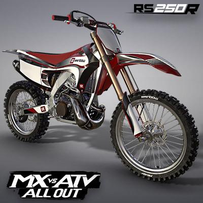 RAINBOW RS250R MOTOCROSS BIKE | MX VS ATV ALL OUT