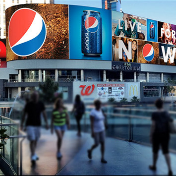 PEPSI LIVE FOR NOW ANIMATION | BRANDED CITIES