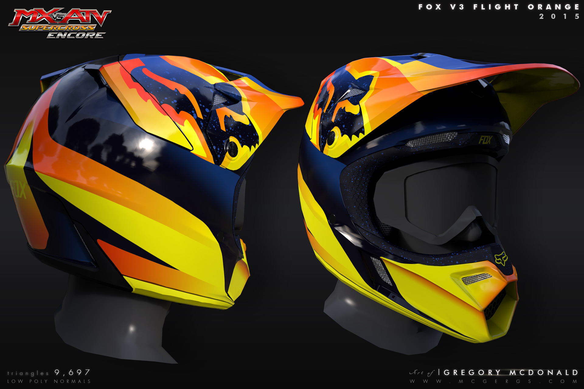 Helmet_FoxV3_Flight_Orange
