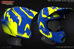 Helmet_FoxV3_Savant_BlueYellow