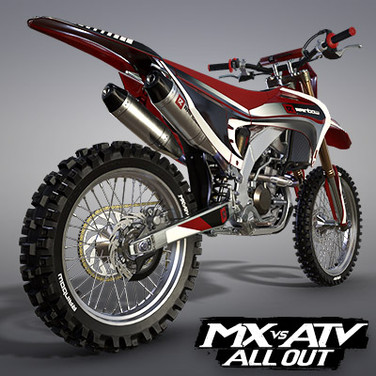 RAINBOW RS250F MOTOCROSS BIKE | MX VS ATV ALL OUT