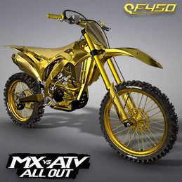 THQ NORDIC QF450 GOLD EDITION MOTOCROSS BIKE | MX VS ATV ALL OUT