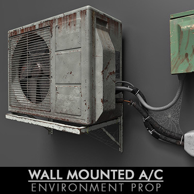 WALL MOUNTED A/C | PERSONAL PROJECT