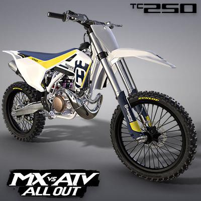 HUSQVARNA TC250 2017 MOTOCROSS BIKE | MX VS ATV ALL OUT