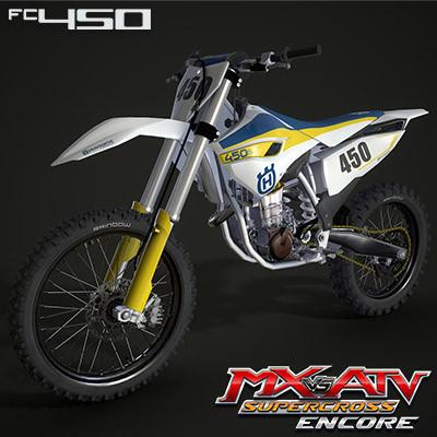 HUSQVARNA FC450 2015 | MX VS ATV SX  ENCORE