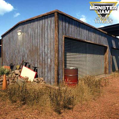 MODULAR GARAGES | MONSTER JAM STEEL TITANS