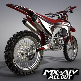 RAINBOW RS450F MOTOCROSS BIKE | MX VS ATV ALL OUT