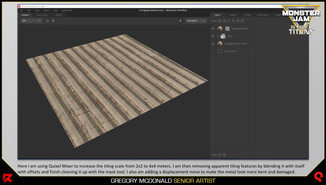 I also use this corrugated metal on other assets in the level like the garage in one of my other presentations.