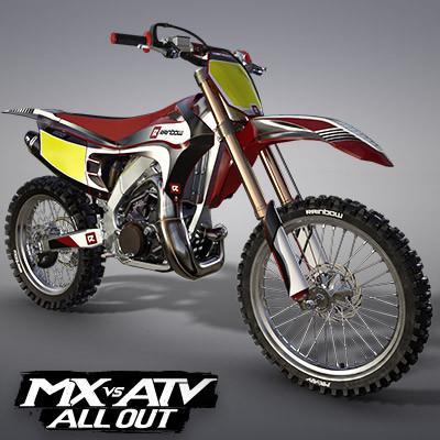 RAINBOW RS500R MOTOCROSS BIKE | MX VS ATV ALL OUT