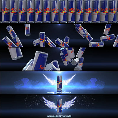 RED BULL ANIMATION   BRANDED CITIES