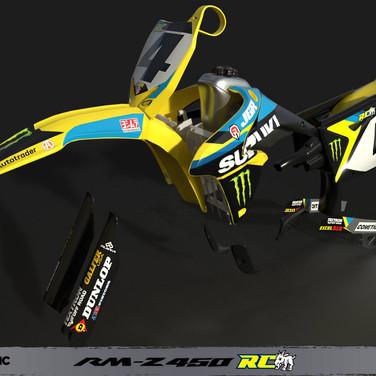 RMZ-450 RICKY CARMICHAEL PRO BIKE | MX VS ATV ALL OUT