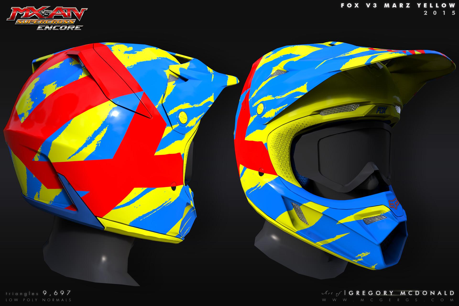 Helmet_FoxV3_Marz_Yellow