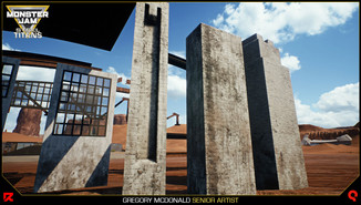 Additional modular brace assets demonstrating dynamic wear and the mud and dust parameters.