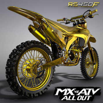 RAINBOW RS450F GOLD EDITION BIKE | MX VS ATV ALL OUT