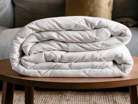 Las mantas pesadas ayudan a aliviar el estrés y la ansiedad
