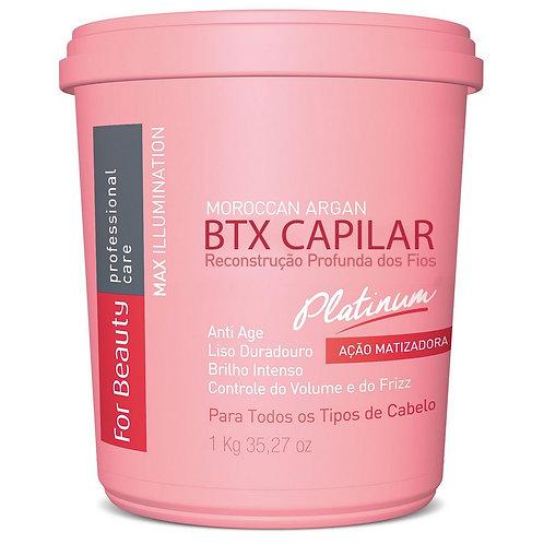Btx Capilar Moroccan Argan Platinum 1kg