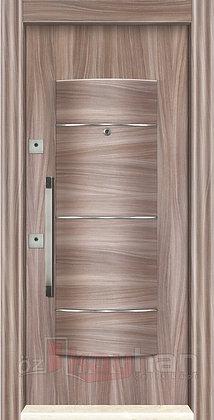 Ahşap Kaplama   Çelik Kapı   KY 075