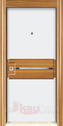 Ahşap Kaplama | Çelik Kapı | KY 069
