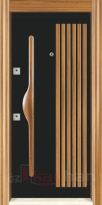 Ahşap Kaplama | Çelik Kapı | KY 068