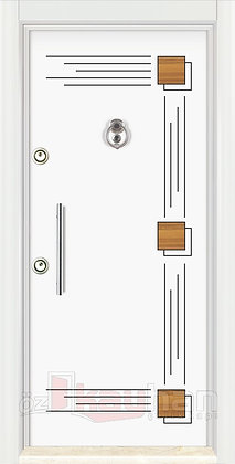 İnci Serisi   Çelik Kapı   KY 101