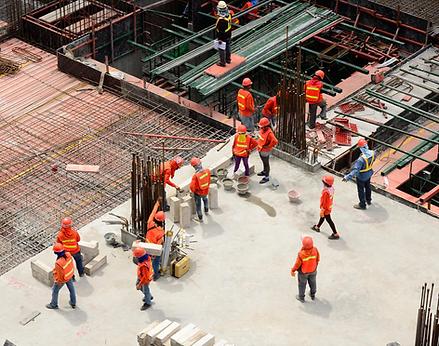 ouvriers du bâtiment ergonome