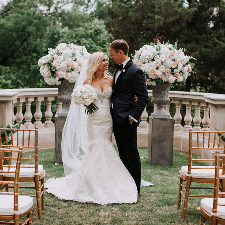 Jessica and James's Glam Wedding at Dallas Private Estate