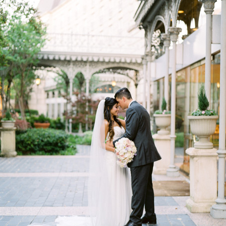 Copy of Ashley and AJ Romantic Wedding at Hotel Crescent Court