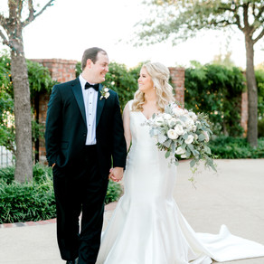Claire and Thomas's Gorgeous Wedding at The Ashton Depot in Fort Worth