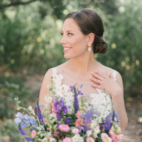 Carolyn and Andy's Lakeside Wildflower Inspired Wedding