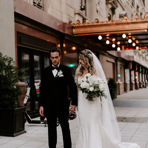 Julia and Chase Modern Traditional Wedding at Adolphus Hotel