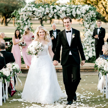 Madison and Jeff's Whimsical Wedding at The Four Seasons of Dallas