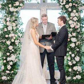 Kelsey and Tanner's Elegant Garden Green Wedding at The Milestone Denton