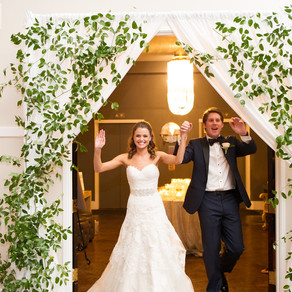 Alexa and Harrison's Natural Light Ballroom Wedding at The Room on Main