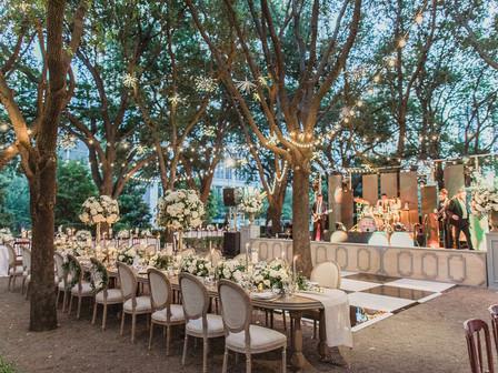 Rene and Adam's Luxurious Garden Wedding at Marie Gabrielle