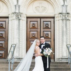 Natalie and Harrison | Shades of Blue Wedding